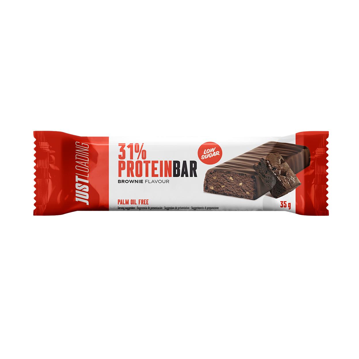 Barrita proteica brownie Just Loading