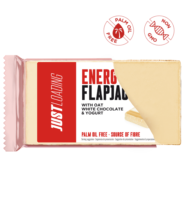 Flapjack chocolate blanco