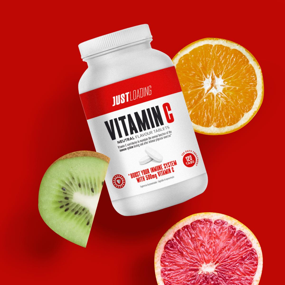 Vitamina C antioxidante