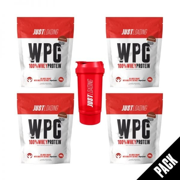 Pack Proteina Chocolate y Shaker