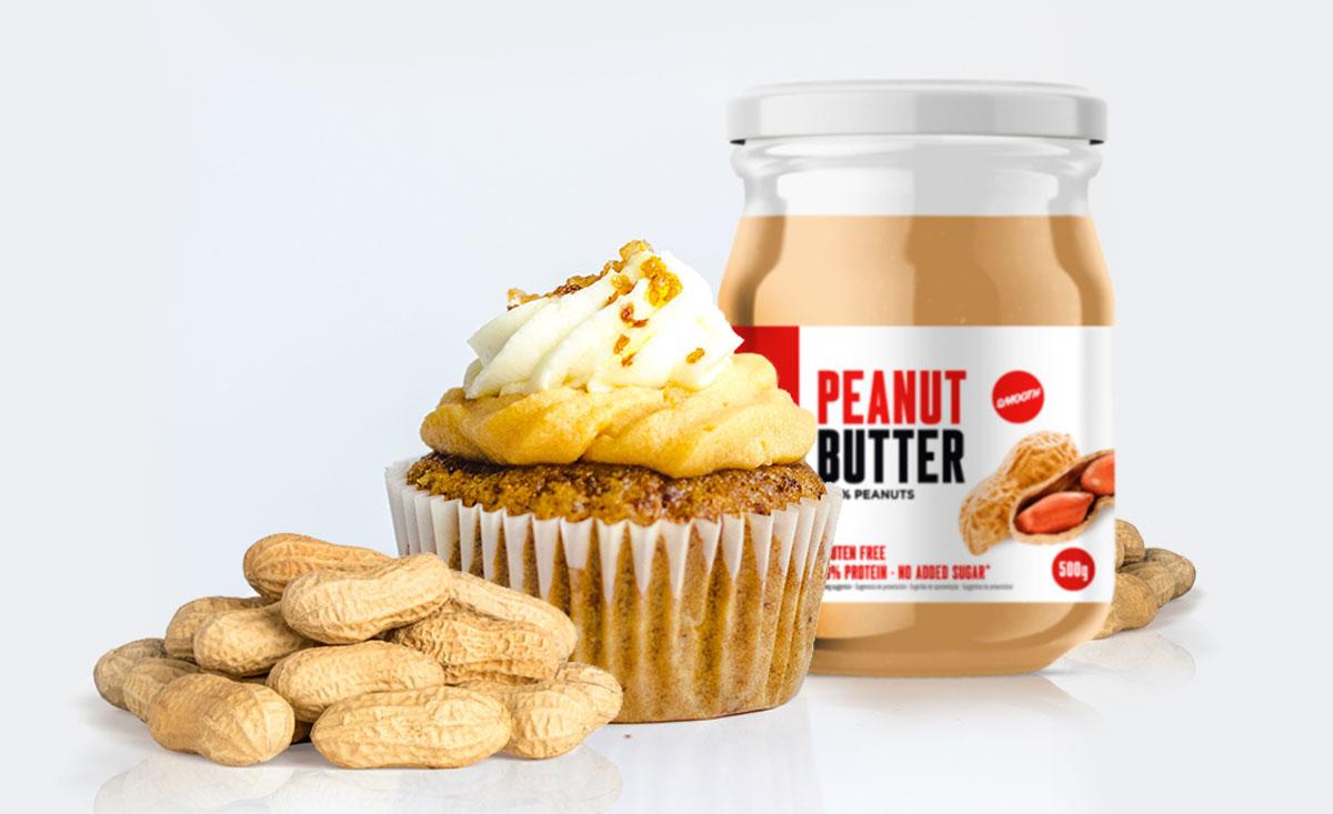 Magdalenas de Carrot Cake y Peanut Butter